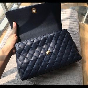 a019984b2e12 CHANEL Bags | Navy Coco Medium Size | Poshmark